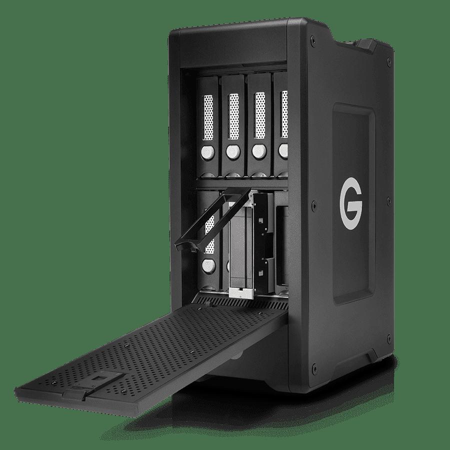 G-Technology RAIDs für VR oder 8k Videoschnitt